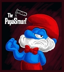 The Poppa Smurf E-Liquid